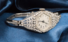 Rare & Early 1900s VACHERON CONSTANTIN PLATINUM DIAMOND SET WATCH