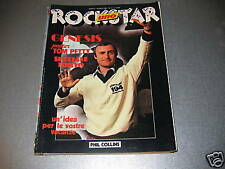 ROCKSTAR N.10 LUG.'81 - GENESIS - POSTER TOM PETTY