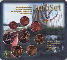 COFFRET  B U  LUXEMBOURG    2002   1C  A  2€