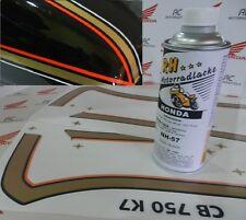 Honda CB 750 Four K7 K8 color paint kit tank panels decal set orange excel black