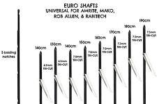 Speargun Shafts (3 Pack) 160 CM for 120 CM guns (Free Shipping)