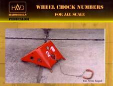 Hungarian Aero Decals WHEEL CHOCK NUMBERS 1/72 1/48 & 1/32