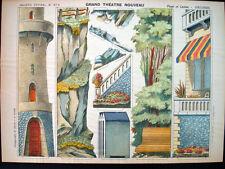 Pellerin Imagerie D'Epinal-Grand Theatre Nouveau No 1679 Beach Casino Inv1785