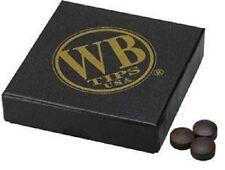 WB Water Buffalo Pool Cue Tip Original Brown (10 Tips)