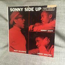 STITT. ROLLINS. GILLESPIE: SONNY SIDE UP - Original 1958 VERVE LP MG V-8262