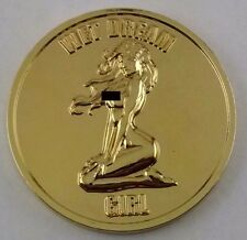 Wet Dream Girl-Nude Good Luck Challenge Coin-Gold Tone-(2 FREE Flipping Coins)