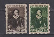 URSS RUSIA  1947 MI 1109-1110 MNH