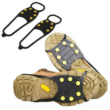 Non-slip Snow Shoe Boots Cover OverShoe Step Ice Cleats Spikes Grips Crampons^