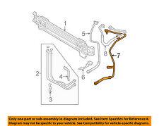VW VOLKSWAGEN OEM 06-08 Passat Transmission Oil Cooler-Return Line 3C0317818A