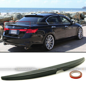 Factory Style #NH578 Taffeta White ABS Rear Wing by IKON MOTORSPORTS Pre-Painted Trunk Spoiler Compatible With 2008-2012 Honda Accord 2009 2010 2011