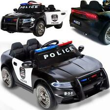Elektrisches Kinderauto Elektroauto Polizeiauto US-Police E-Auto Licht 12V Neu