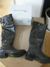 Super  Stiefel in dunkelgrau Top Gr. 37   NEU  21