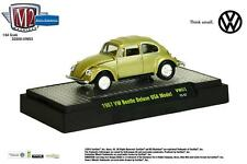 1:64 M2 Machines AUTO-THENTICS Volkswagen R3 = Lime Green 1967 VW Beetle *NIB*