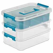 Carry Box Storage Container Organizer Supplies Lego Crafts Jewelry Nail Polish