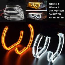 DTM LED Angel Eyes Halo Rings Headlight For BMW F30 F31 E60 E82  E87 E90 E92 M3