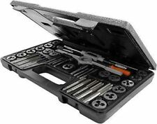 Standard SAE Steel Tap & and Die Tool Threading Set