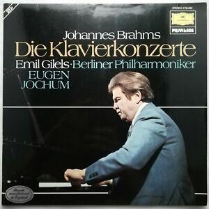 Brahms: The Piano Concertos / Gilels / Jochum / BPO / DG 2 LP set 2726 082