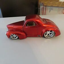1941 WILLY'S COUPE JADA 1:24 SCALE DIE CAST RED #90669