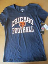 "Chicago Bears Women's Majestic NFL ""Franchise Fit"" Short Sleeve T-shirt M"