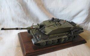 British tank Challenger 2 KFOR 1/35 built