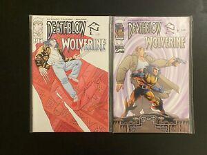 Deathblow / Wolverine #'s1 & 2 1996 Complete High Grade 9.4 Image Comics CL56-87