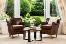 More details for leather armchair professor chair fireside chair hall chair