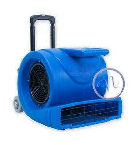Commercial Floor , Carpet Dryer / Blower & Air Mover With Metal Double Wind Fan
