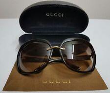 Gucci Oval 100% UVA & UVB Protection Sunglasses for Women