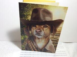 AVANTI PRESS HAPPY BIRTHDAY GREETING CARD New with Envelope Dog HERO