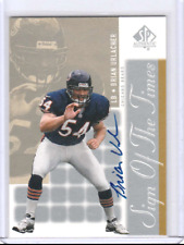 Brian Urlacher 2000 Upper Deck SP Sign TImes Rookie Autograph AUTO RC *BEARS*