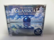 THE MOST RELAXING MUSIC IN THE UNIVERSE ~ 2-CD SET ~ 2-HOURS OF MUSIC ~ NEW CD