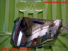 Aftermarket Arai L Type Chrome Mirror Pinlock Visor Shield RR4 Chaser Astro J