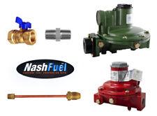 Marshall Regulator Home Propane Supply Kit 1122h Aaj 1622 Bcf 12 Straight Lp