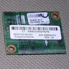 Agere Systems Anatel Asi-Delphi-D40 510100-001 Mini Pci Dial Up Modem 56K. Works