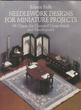 Eileen Folk Needlework Designs for Miniature Projects Dollhouse Projects Book