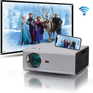 3500 Lumens HD Android WIFI Bluetooth LED Video Projector Support 1080p FULL HD