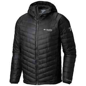 Columbia Mens L SNOW COUNTRY TITANIUM OMNI HEAT 3D INSULATED HOODED JACKET