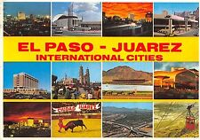 BG13767 el paso juarez international cities corrida cable train mexico