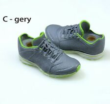 12'' Figure Model Toy Man&Female White+Grey Sneakers Sports Shoes 1/6 Scale Boot