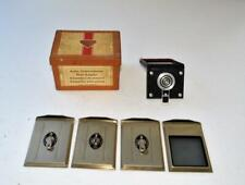 VTG Rollei Rolleiflex Cut Film Plate Adapter Set original box Made Germany