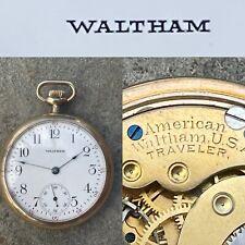 16s waltham pocket watch