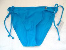 figleaves Size 18 Tie Side Bikini Briefs Bottoms Blue