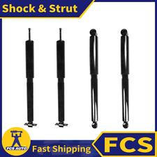 4X FRONT + REAR FCS Shock & Strut Kit Set Fits 2000-2004 JEEP GRAND CHEROKEE