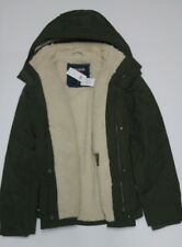 NEW HOLLISTER ALL-WEATHER SHERPA LINED MEN'S JACKET SIZE L
