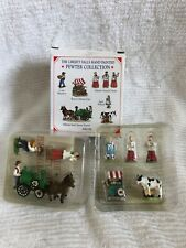 Liberty Falls Pewter Collection Ah199 Flower Cart Choir Steam Train & More! - M