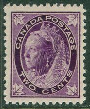 EDW1949SELL : CANADA 1897-98 Unitrade #68 VF, Mint NH. Very Fresh Cat $240