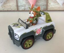 PAW Patrol - Tracker's Jungle Cruiser Jeep Vehicle with Collectible Dog Figure