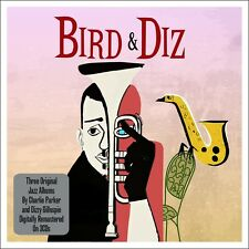 Charlie Parker & Dizzy Gillespie BIRD & DIZ / MASSEY HALL / IN CONCERT New 3 CD