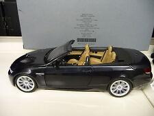 1:18 Kyosho BMW M3  E93 Cabrio schwarz  Dealer Edition NEU NEW