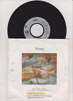 STING - ALL THIS TIME / GERMANY VINYL 7'' SINGLE - 1991